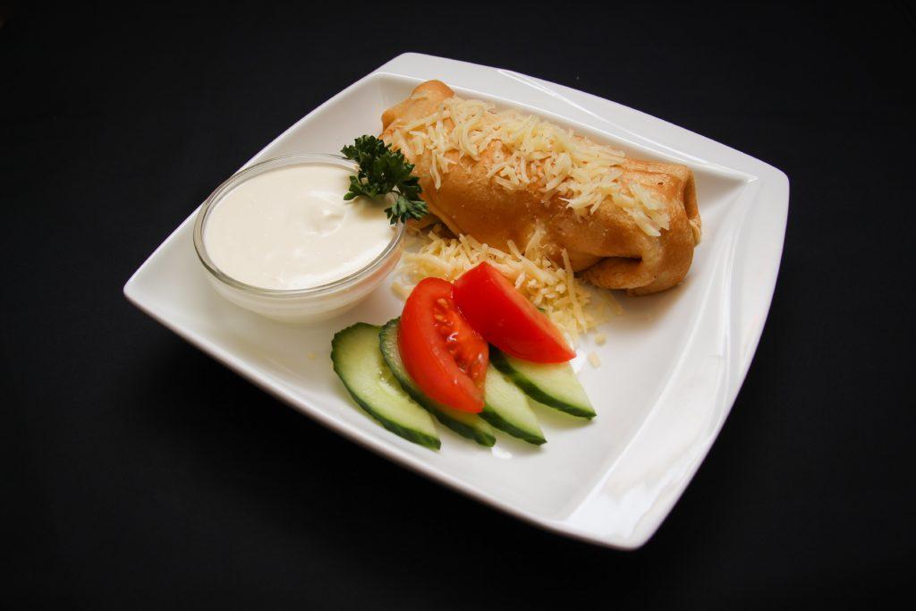 Pannkook singi ja juustuga